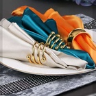Party Table Decoration For Party Wholesale Satin Fabric Sanitary Napkin For Wedding Party Table Decoration Use Cloth Napkin