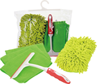 Set Car Wash Tools Set PVC Bag Microfiber Cloth Car Wash Tool Kit Car Care Cleaning Kit Set
