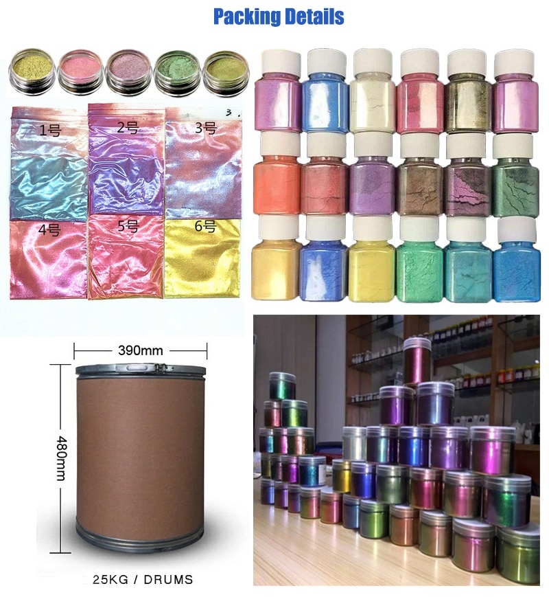 Wholesale 5D magnetic chameleon pigment,cat eyes gel nail polish powder