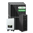 3Kw 5Kw Panel Kit Cost Energy Hybrid Off Grid All In One Solar Power System Home