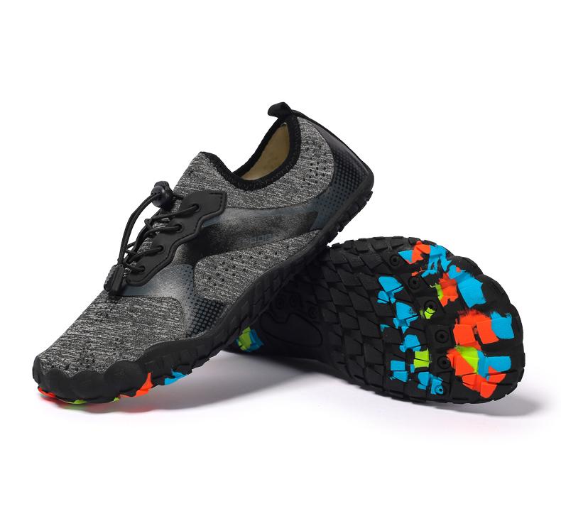 Năm ngón chân ngoài trời Barefoot Breathable Non-Slip Aqua giày cho nam giới