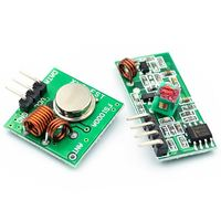 433Mhz Wireless 315/433Mhz Transmitter & Ook And 433 Small Rf Receiver Module