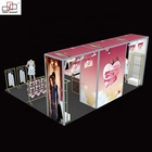 10ft 20ft Modular Clothing Exhibition LED Light Box Display Stand