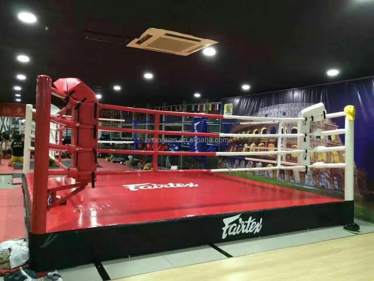 cheap price training floor boxing ring/ mma/ muay thai/ UFC/ wretling/ kick/ AIBA sale different size