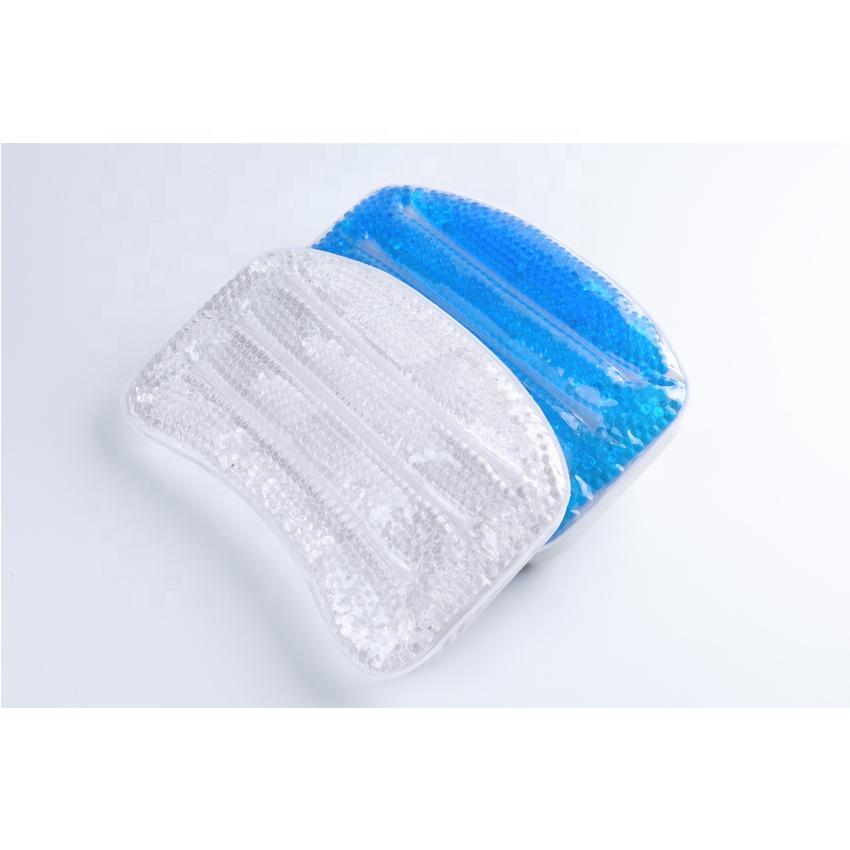 デラックスなだめるソフトゲル充填スパバス枕で吸引カップ