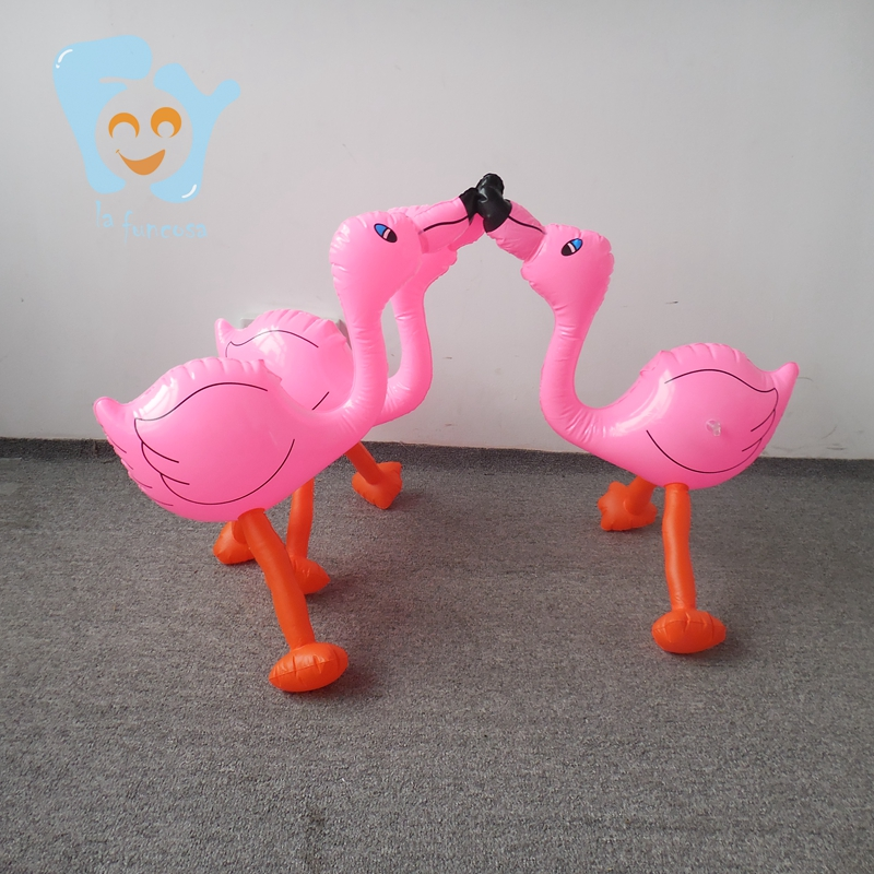 Piscina Casa de Mini inflable decorativo Rosa flotante Flamingo