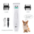 Professional high quality waterproof automatic electric rechargeable battery pet dog hair trimmer