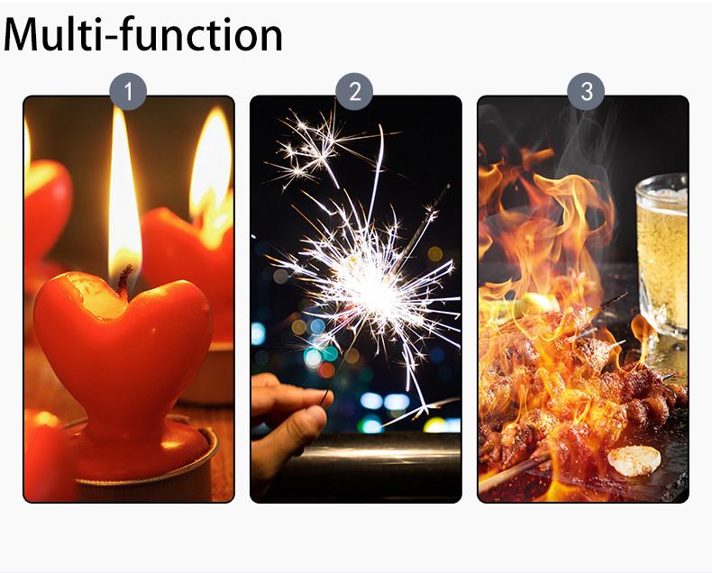 Свеча Зажигалка Кемпинг/гриль USB Зажигалка плазменная дуговая сварка, более гибкая Горловина для лампы в форме свечи для приготовления пищи