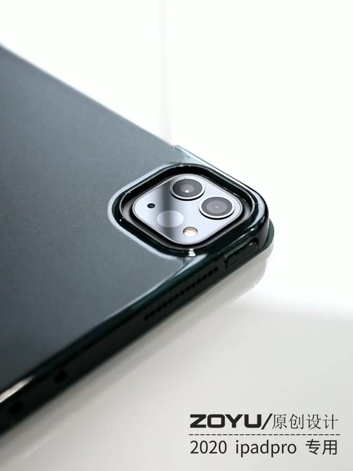 Neue design Tri-falten Fall Für iPad pro 11 Ultra slim Flip leder Tablet fall für ipad pro 2020 fall