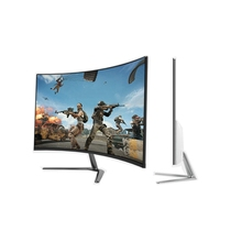 24 ''FHD 1080p curvo jogo do monitor LED curvo pc monitor