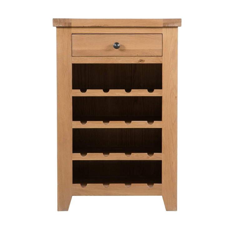 Light oak lasting durability multifunctional attractive appearance bar cabinet wooden