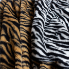 Garment Garment Custom Garment Warm And Sensible 100% Polyester Animal Printed Faux Fur Fabric