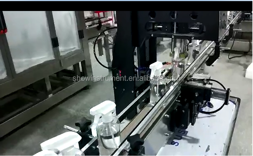 Customized High Production Efficiency Automatic Bottle Filling Machine