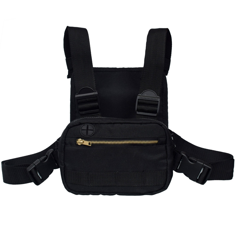 Fashion chest rig bag sports tactical chest bag for running hiking