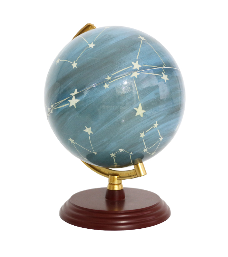 education toys globe map 20cm Rechargeable With Lamp Globe With Plastic Base