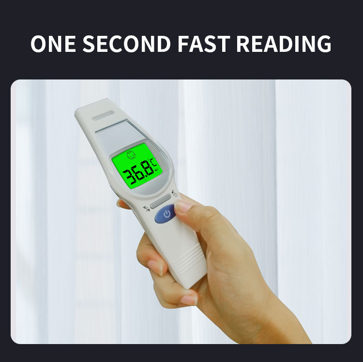 contactless smart medical fever Baby adult Temperature gun Electronic laser ir non-contact Digital Infrared Forehead Thermometer
