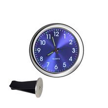 Автомобильные часы светящиеся Мини автомобили внутренние палки-на цифровые часы механика кварцевые часы для автомобиля вентиляционное от...(Китай)