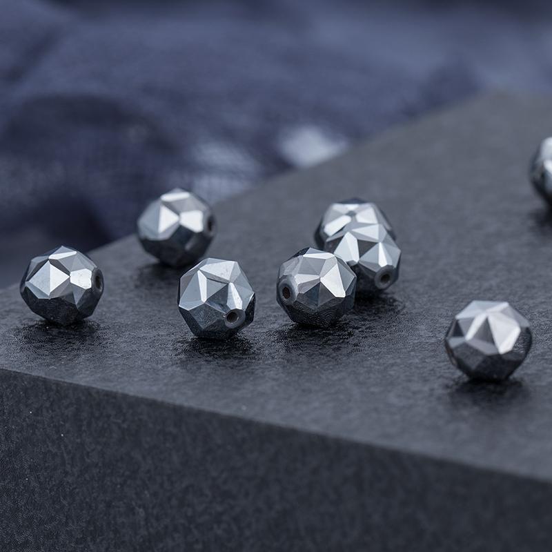 Factory Supplier Custom Natural 99.9999% Terahertz Stone Health Terahertz Bead