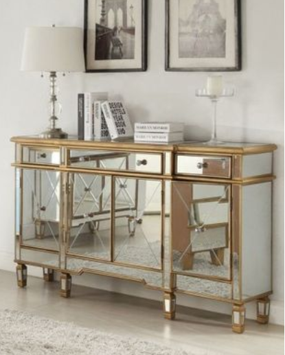 Elegant Mirrored Console Table Living Room Mirror Cabinet Furniture In Silver Or Gold Buy Living Room Mirrored Corner Cabinet Mirrored Buffet Console Table Furniture Elegant Mirrored Coner Table Product On Alibaba Com