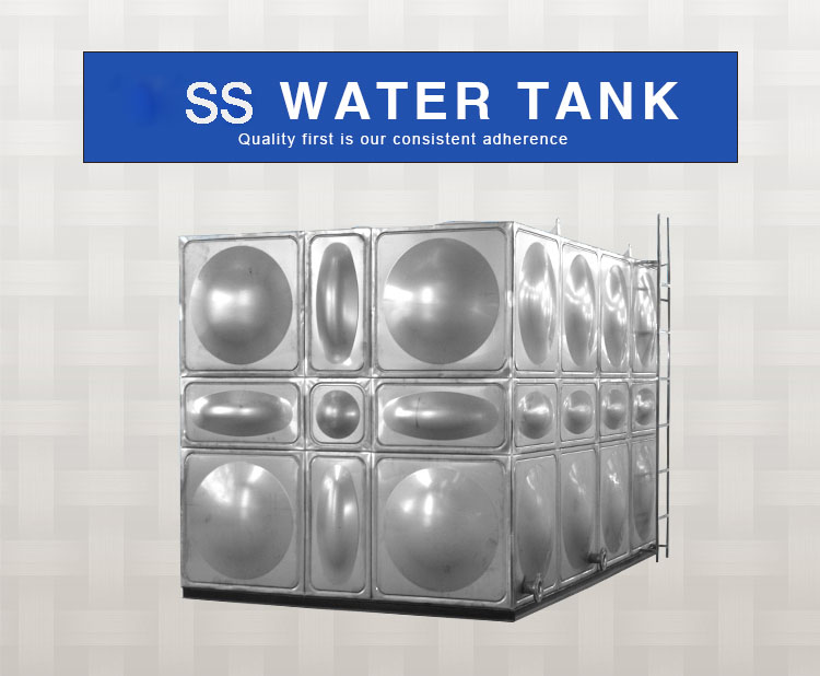 50000 liter stainless steel modular water storage tank