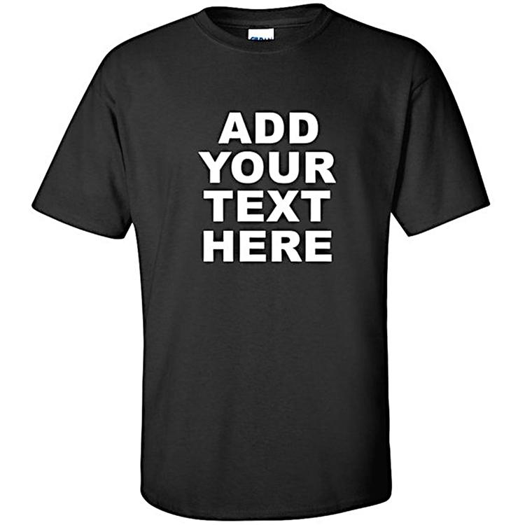 Gratis Verzending Hoge Kwaliteit 100% Premium Cotton T-shirt, Custom Print Mannen T-shirt