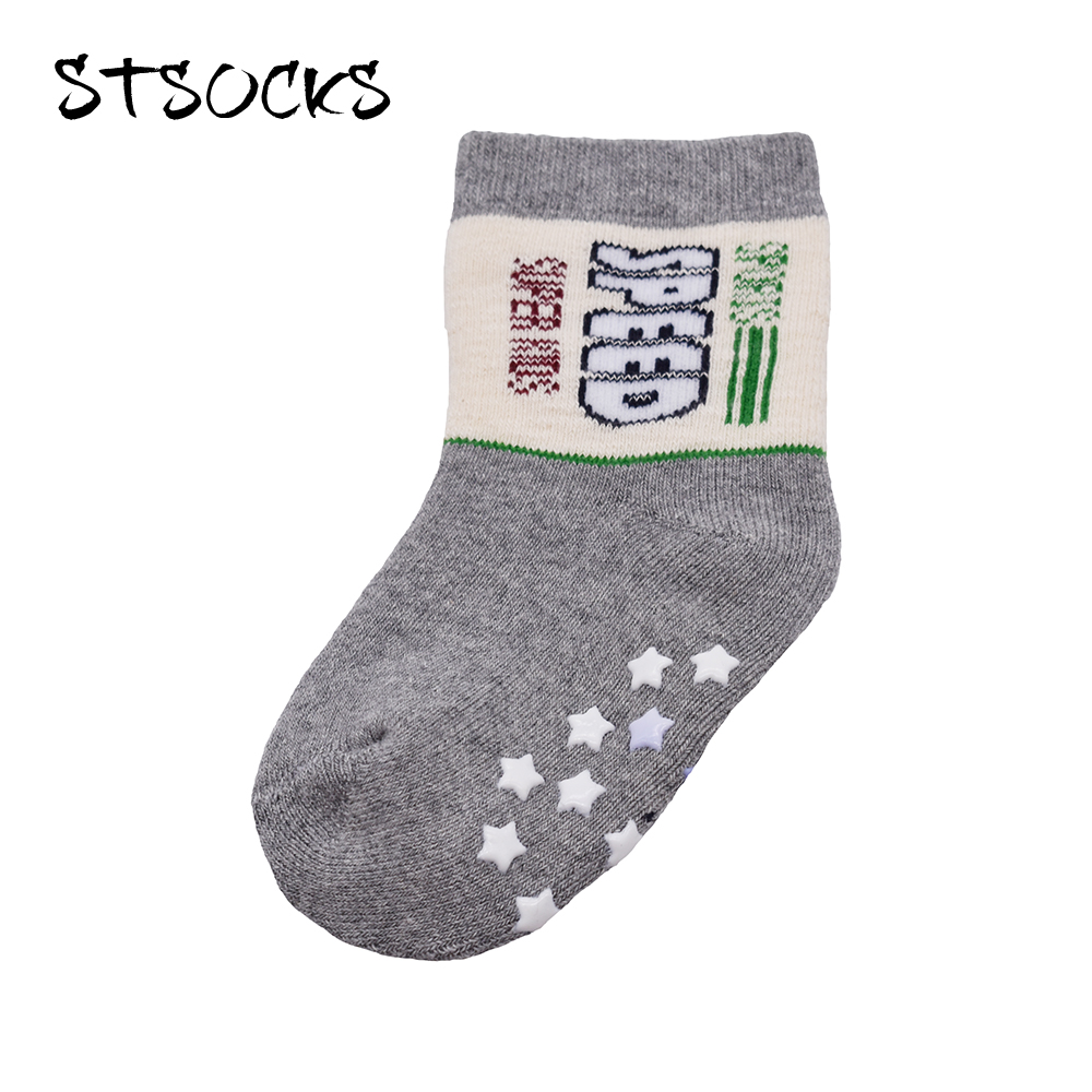 Reliable Factory Wholesale Prices Happy Funny Comfortable Infants Baby Boys Cotton Cartoon Crew Socks