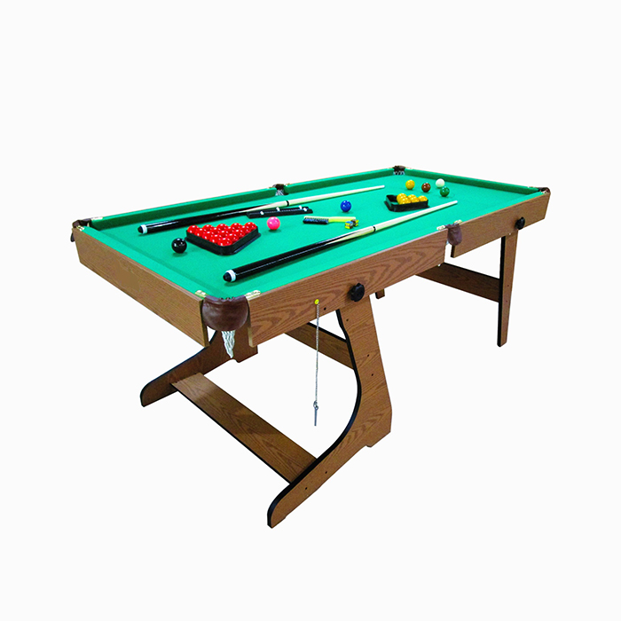 Professional Manufacturer 6FT folding billiards with free accessories