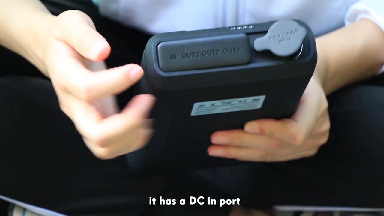 2020 mejor vendedor portátil DC 12V 12v 16,5 v 20V 60000mah Banco de la energía para HP Acer notebook tabletas con PSE certificado