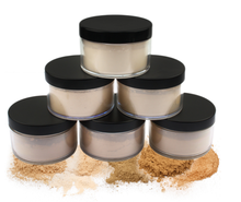 Wasserdichte Foundation Gesicht Basis Make-Up Lose <span class=keywords><strong>Pulver</strong></span> Professionelle Private Label Öl Control Einstellung Mineral <span class=keywords><strong>Pulver</strong></span>