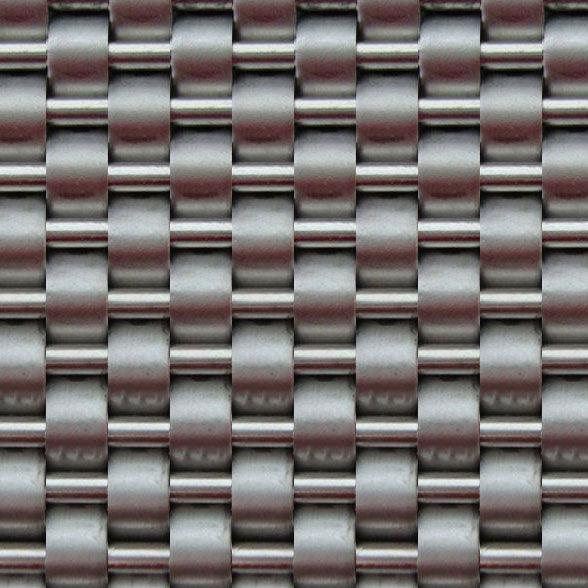 Decorative Linq woven metal <strong>mesh</strong> for wall cladding