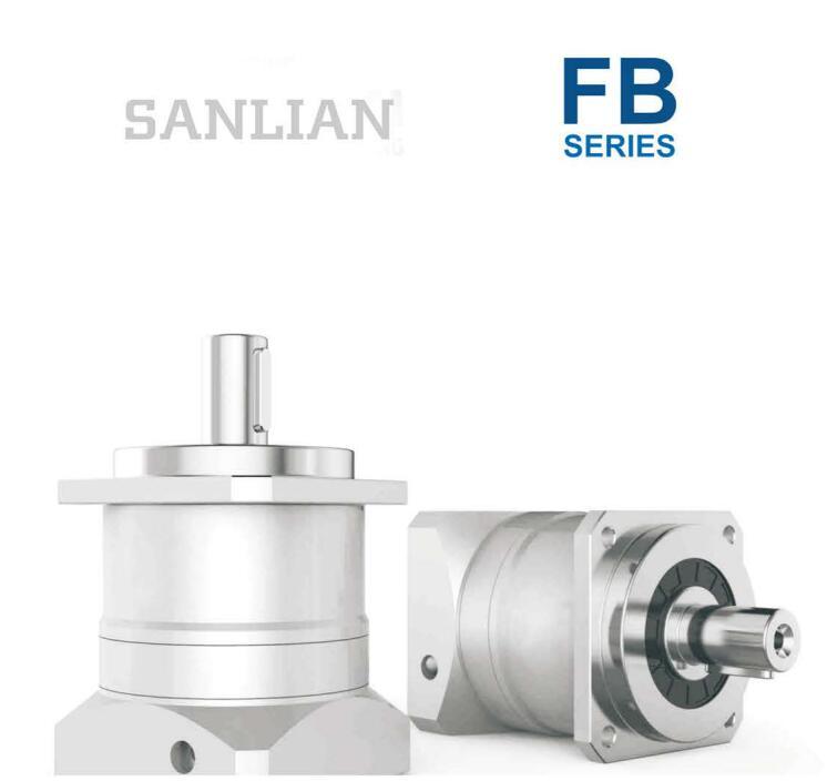 Seri FB Presisi Gearbox Reducer Kecepatan Variator dengan Motor Kecepatan Variator Right Angle Gearbox 1:1 Reducer
