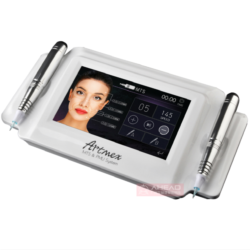 Permanente Make Up Tattoo Pen Machine Artmex V8 Micropigmentation Machine met 2 stuks Cosmetische Digitale Microblading Pen Voor verkoop