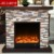 Light luxury simple fireplace  Adornment fireplace  Solid wood fireplace