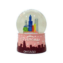 Skyline New York City Snow Globe 65 มม.จาก NYC Snow Globes