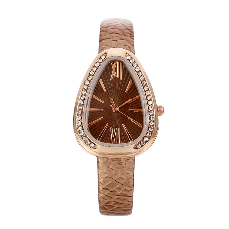 Triangle <strong>Women</strong> Gift Set <strong>Watches</strong> Rome Case Leather Quartz <strong>Wrist</strong> <strong>Watch</strong> Diamond <strong>Watches</strong> <strong>For</strong> <strong>Women</strong>