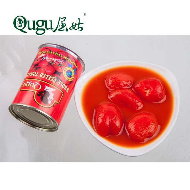 400g canned whole peeled tomato