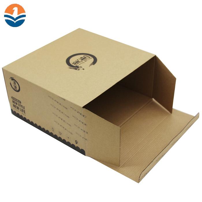 Riciclo di Formato Personalizzato di Carta Cartone Scatola di Cartone Ondulato di Imballaggio di Trasporto di Prezzi All'ingrosso