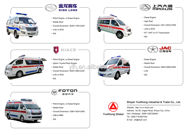 ICU medical negative pressure ambulance emergency
