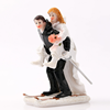 Dancing Bride and Groom Couple Figurine Wedding Cake Topper Figurine