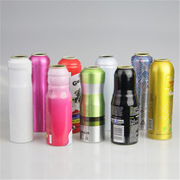 2019 popular fashion custom small empty metal aluminum aerosol perfume spray can packaging 50ml 100ml 200ml 250ml wholesale