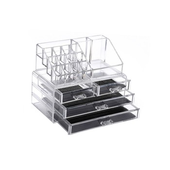 Factory Direct Plastics Storage Boxes Acrylic Makeup Organizers, Indoor Storage+Boxes+ Organizador De Maquillaje