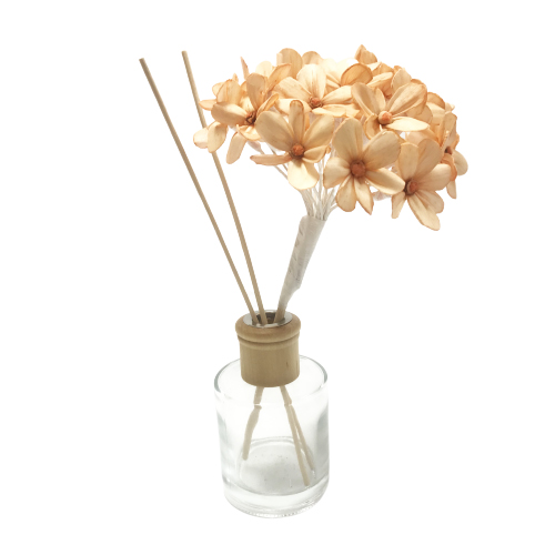 Customised size wholesale hydrangea bouquet Sola Wood Flower For Reed Diffuser