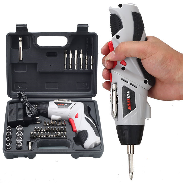 4.8V Li-ion Battery 45pcs per set Cordless Screwdriver Mini Screwdriver