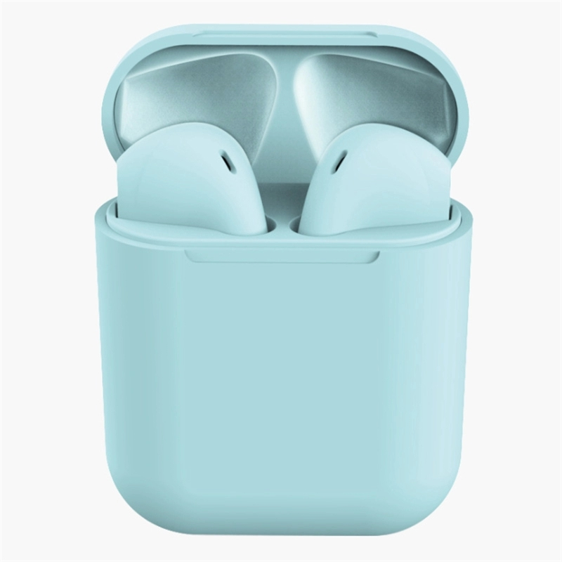 Macaron earphones True wireless Mini Inpods 12 Touch Control 5.0 Earphone i12 Tws