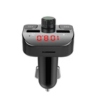 Car Car Mp3 Fm Transmitter GXYKIT Qualified G15 Dual USB Hands-free 5V 2.1A Car Charger FM Transmitter 15m 87.5-108.5 Mhz Car Bluetooth MP3 Player