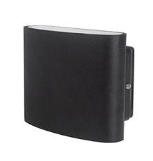 Noir/Blanc Réglable 10*20*8CM 3W 7W Rectangle en Bas de Mur Mené D'intérieur lumière