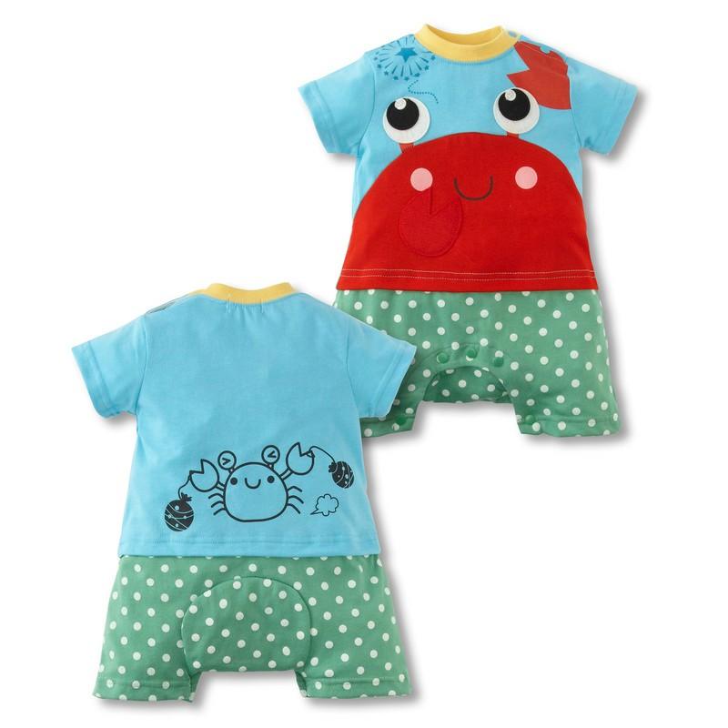 Neue Baby Jumper Anzug Ein Stück Kleidung Set Strampler Für Online-Shop