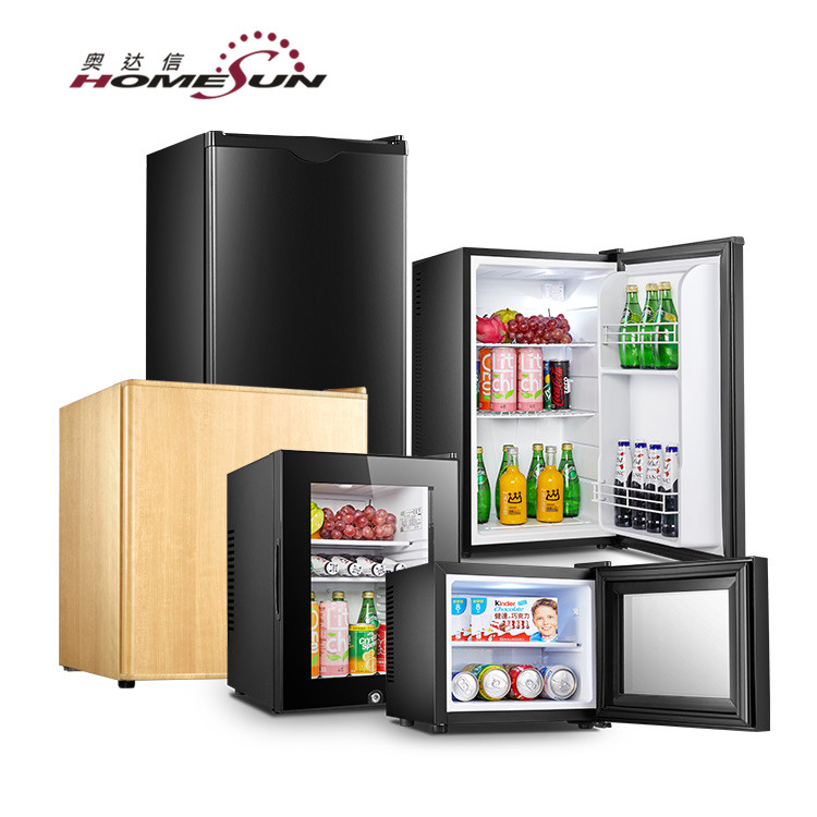 BC-49 Hotel Room Electric Compressor Mini Freezer Refrigerator, 220V Mini Fridge Freezer