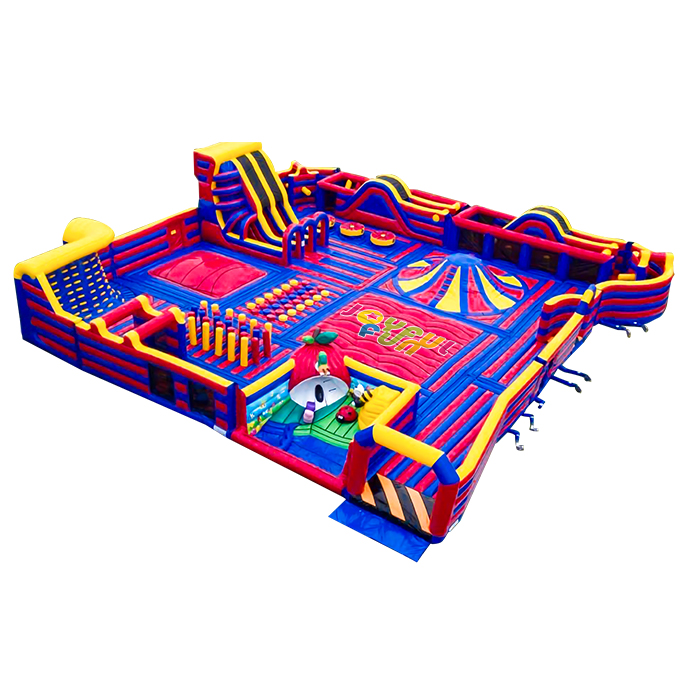Factory NEW 2020 Customize Sports Adventure Challenge Indoor Outdoor Adult Inflatable Playground Inflatable Theme Park for Sale