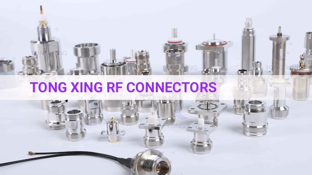 Conector tipo F hembra recto a conector SMA macho adaptador coaxial RF